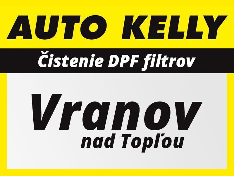 Čistenie DPF filtrov AUTO KELLY Vranov nad Topľou