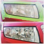 Ručná autoumyváreň AUTO KELLY Vranov nad Topľou - renovácia svetlometov